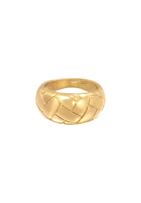 Ring Braided Gold