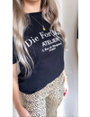 DIE FOR DIOR TEE BLACK