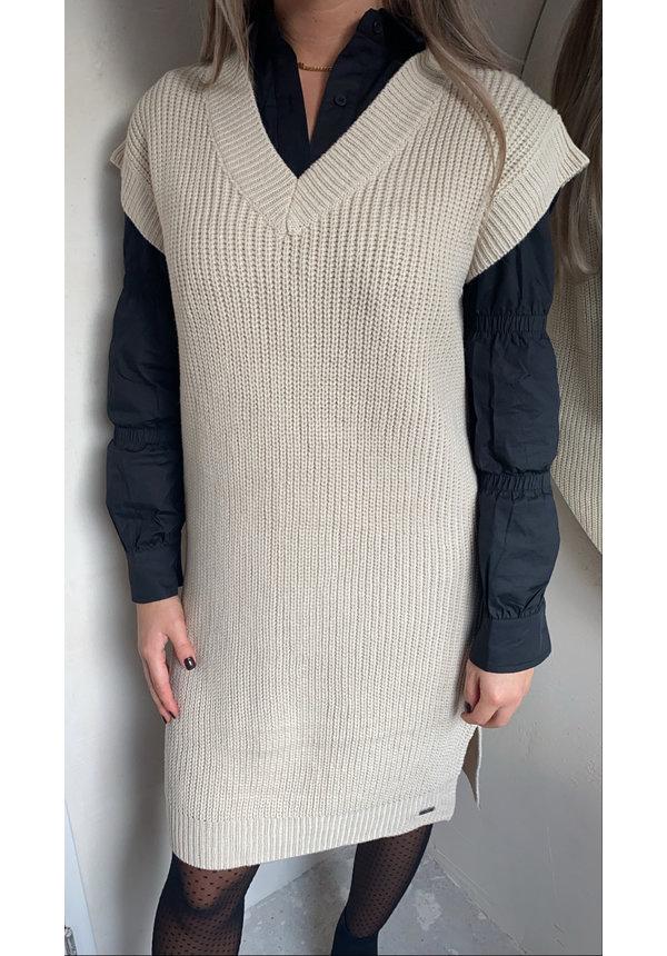 SPENCER DRESS NUDE