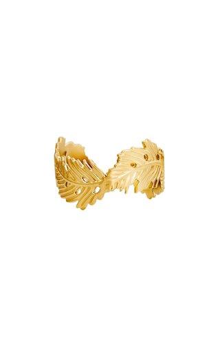 Ring Wavy Leaf