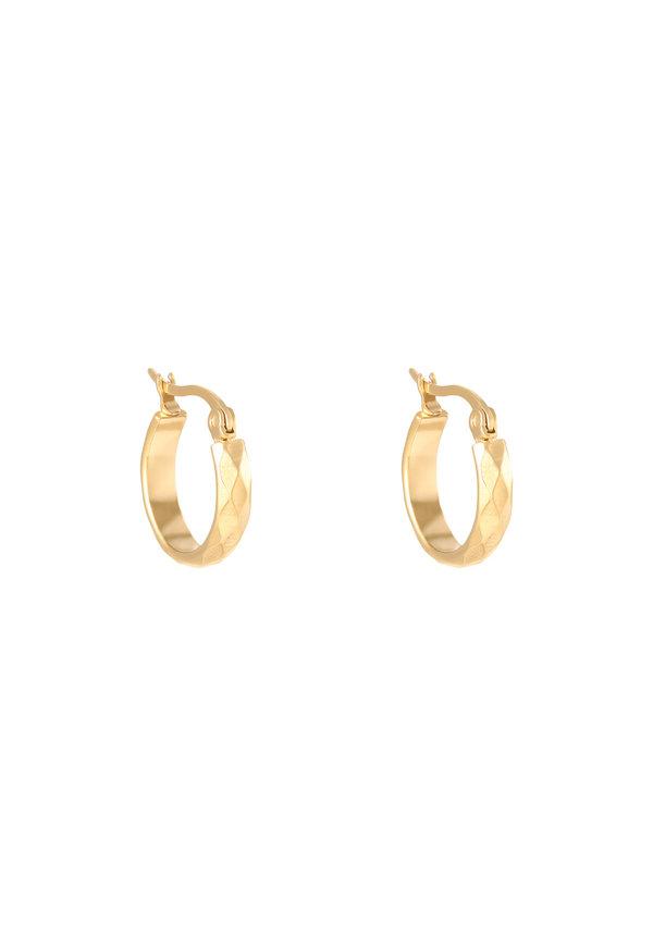 Earrings Creole Diamond