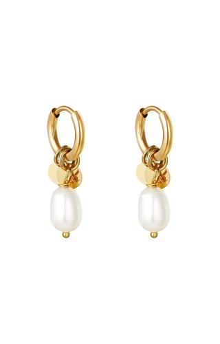 Earrings Pearl Drops