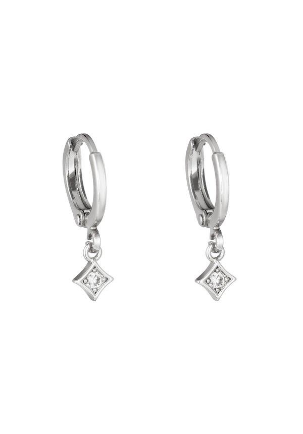 Earrings Gleam Silver