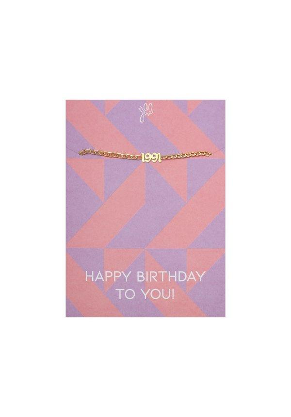 Bracelet Year Of Birth Gold 1994 TM 2005