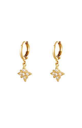Earrings Diamond Star