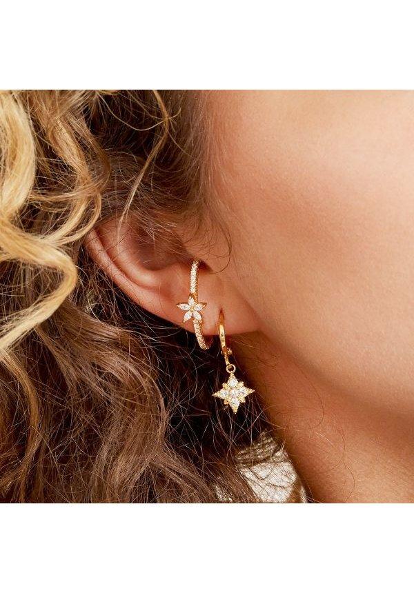 Earrings Diamond Star