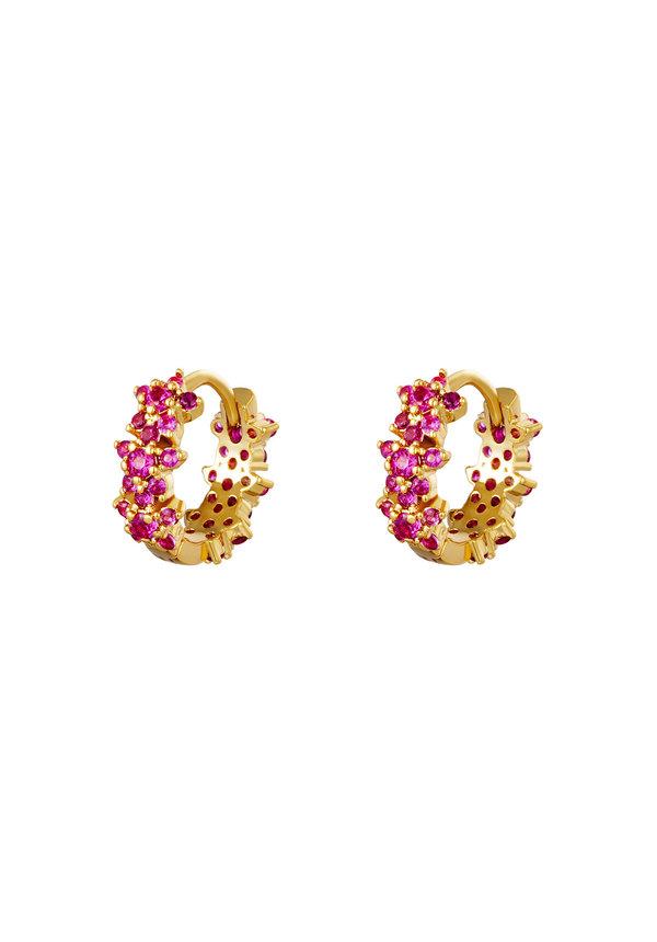 Earrings Monarch Pink