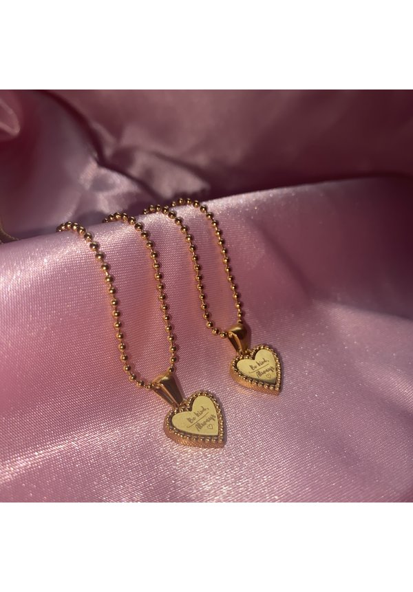 Necklace Be Kind Gold