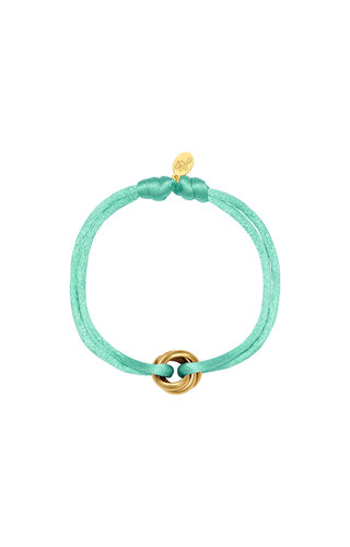 Bracelet Satin Knot  Mint