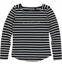 Levv Longsleeve Abeni Night blue Stripe