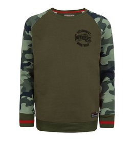 Retour Silvan sweater 6090 dark army