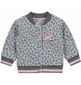 Quapi Zara vest Light Grey Leopard