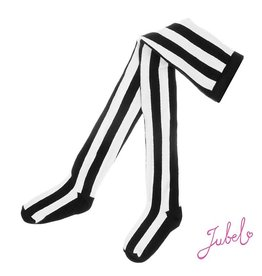 Feetje Maillot streep zwart wit maat 110