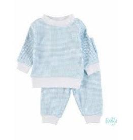 Feetje Pyjama wafel 077 blue