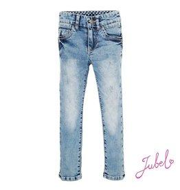 Jubel Broek jeans l. blue denim 98