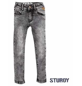 Sturdy Broek 997 grey denim slim fit 134
