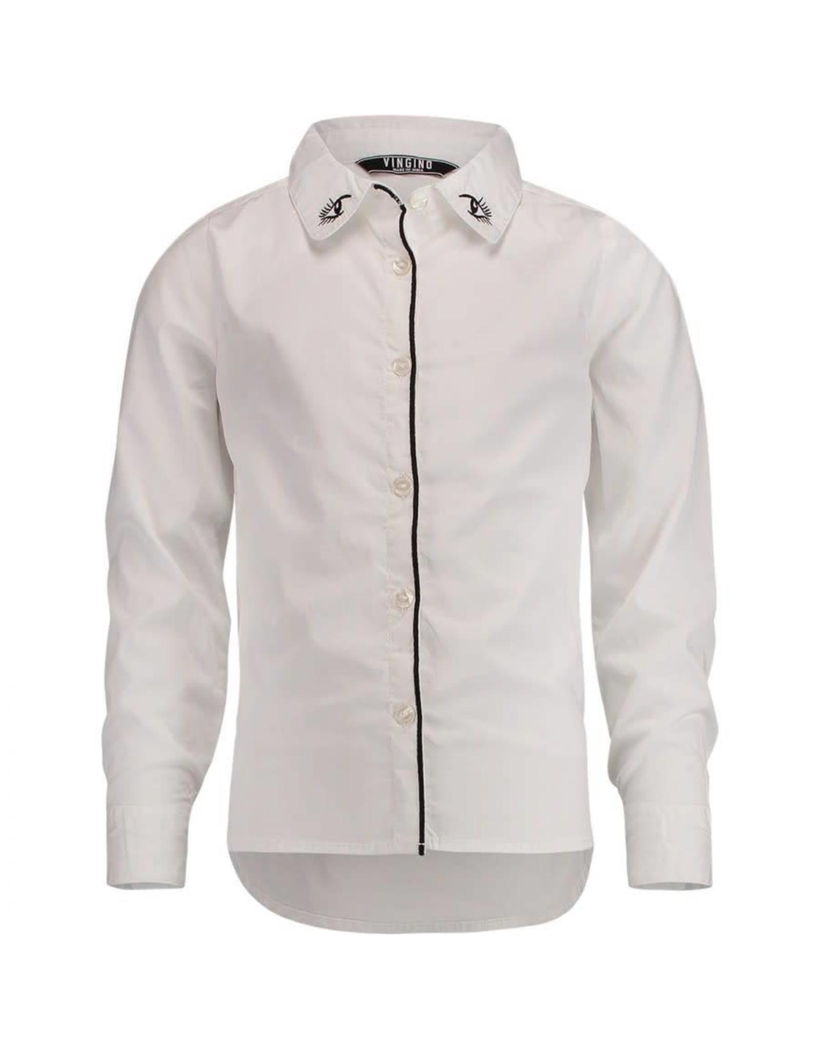 Vingino Lockata blouse 001 real white 176