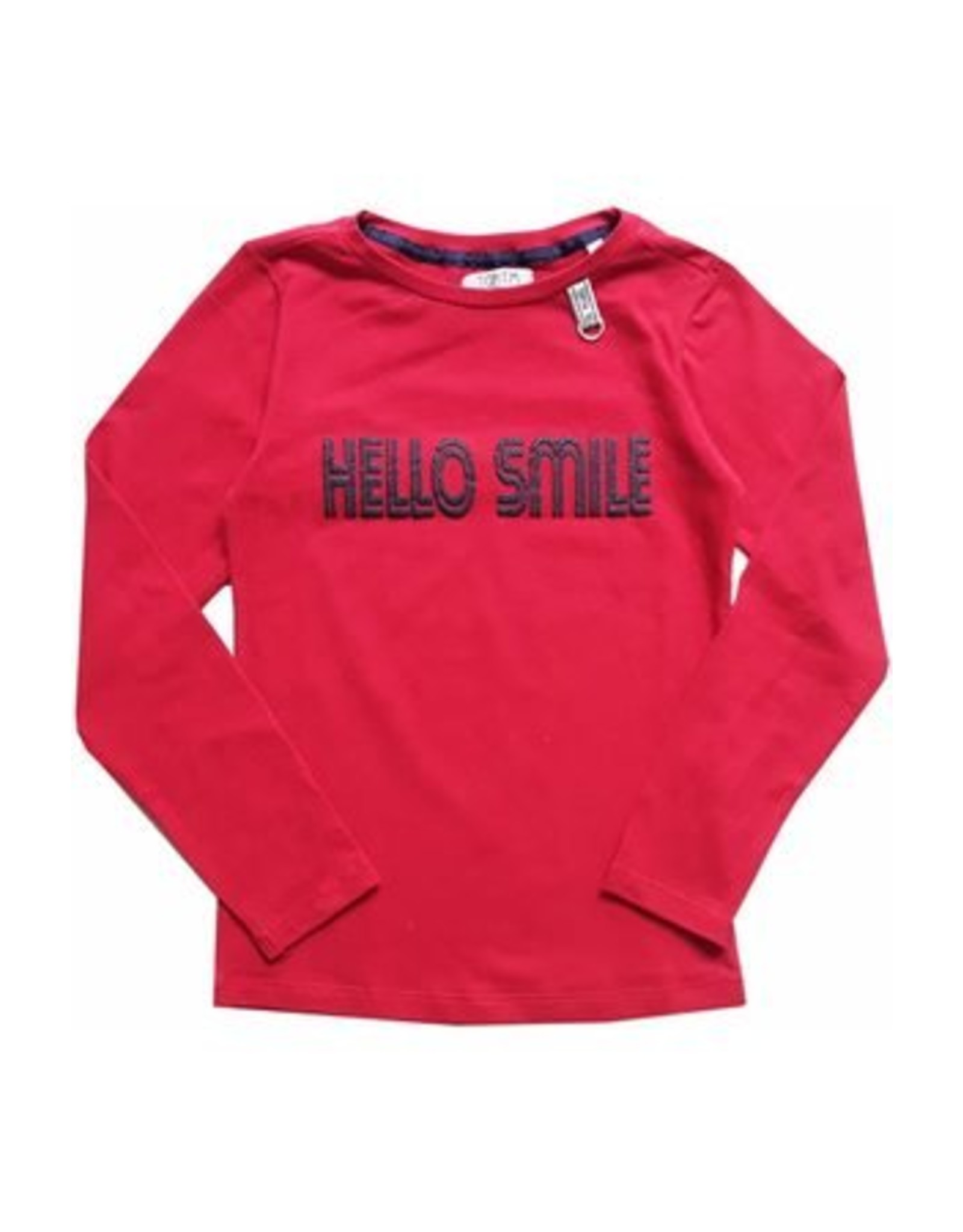Topitm Longsleeve Cacy red/smile