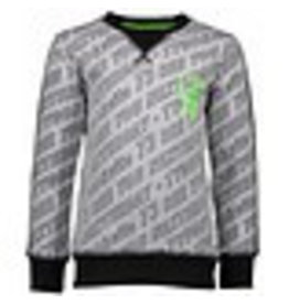 Tygo & vito Sweater AOP 700 grey melee