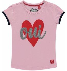 Quapi T-shirt Rose Pink