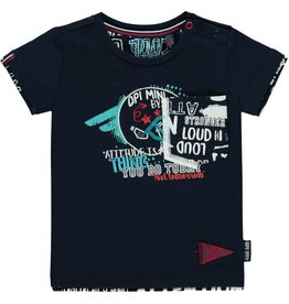 Quapi T-shirt Richard Navy