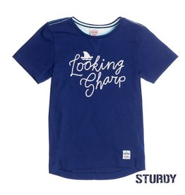 Sturdy T-shirt k/m looking sharp Scuba Indigo