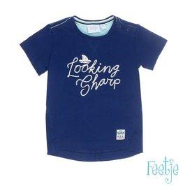 Feetje T-shirt k/m Looking sharp Scuba indigo