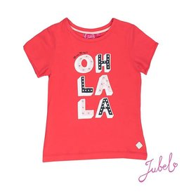 Jubel T-shirt oh la la sea view 100 rood