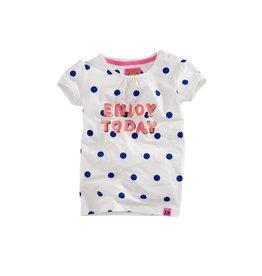 Z8 T-shirt white dots