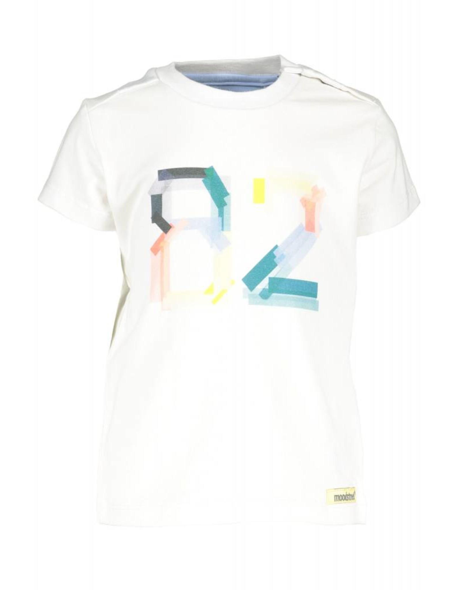 Moodstreet T-shirt '82 001 white
