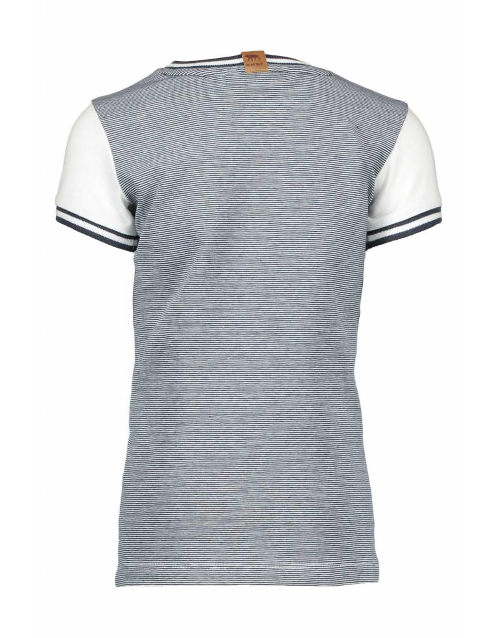 B-nosy B-nosy T-shirt safari 002 chalk white