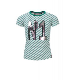 Looxs T-Shirt 313 grass stripe