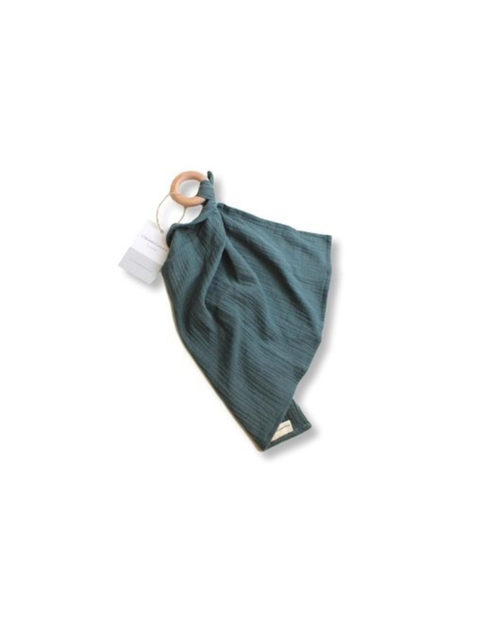 Chewies&more Chewie Doek donker vergrijsd groen