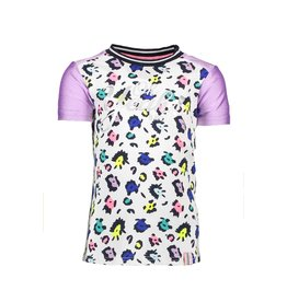 B-nosy B-nosy T-shirt color panter 973 sprinkle