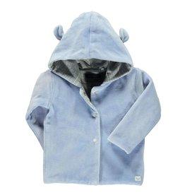 Moodstreet Vest Fake fur 828 Pale jeans