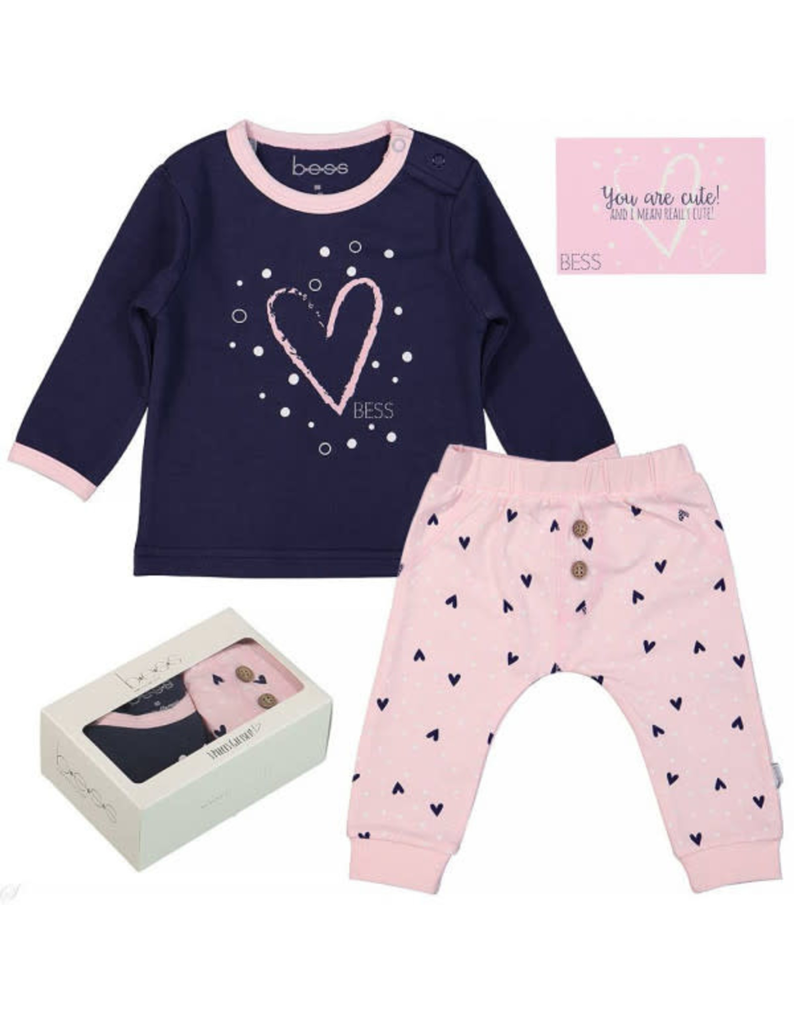 BESS Bess giftbox girls 007 pink