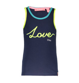B-nosy B-nosy Singlet LOVE 170 midnight blue