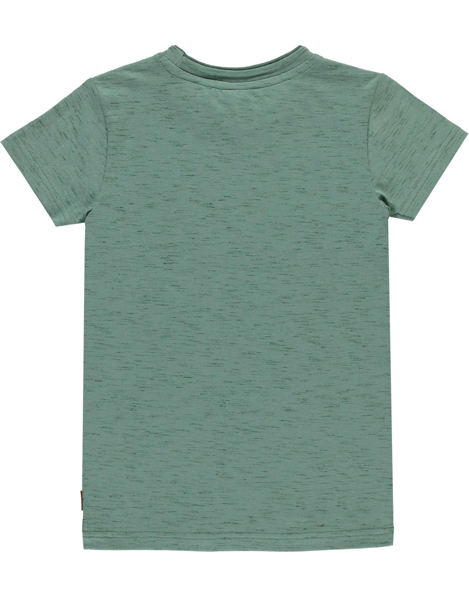 Levv T-shirt Boudewijn Moss Green