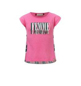 Looxs T-shirt hot pink