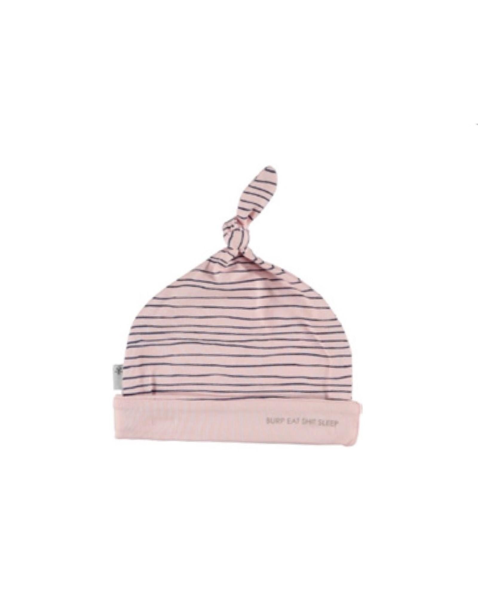 BESS Bess mutsje pinstripe pink