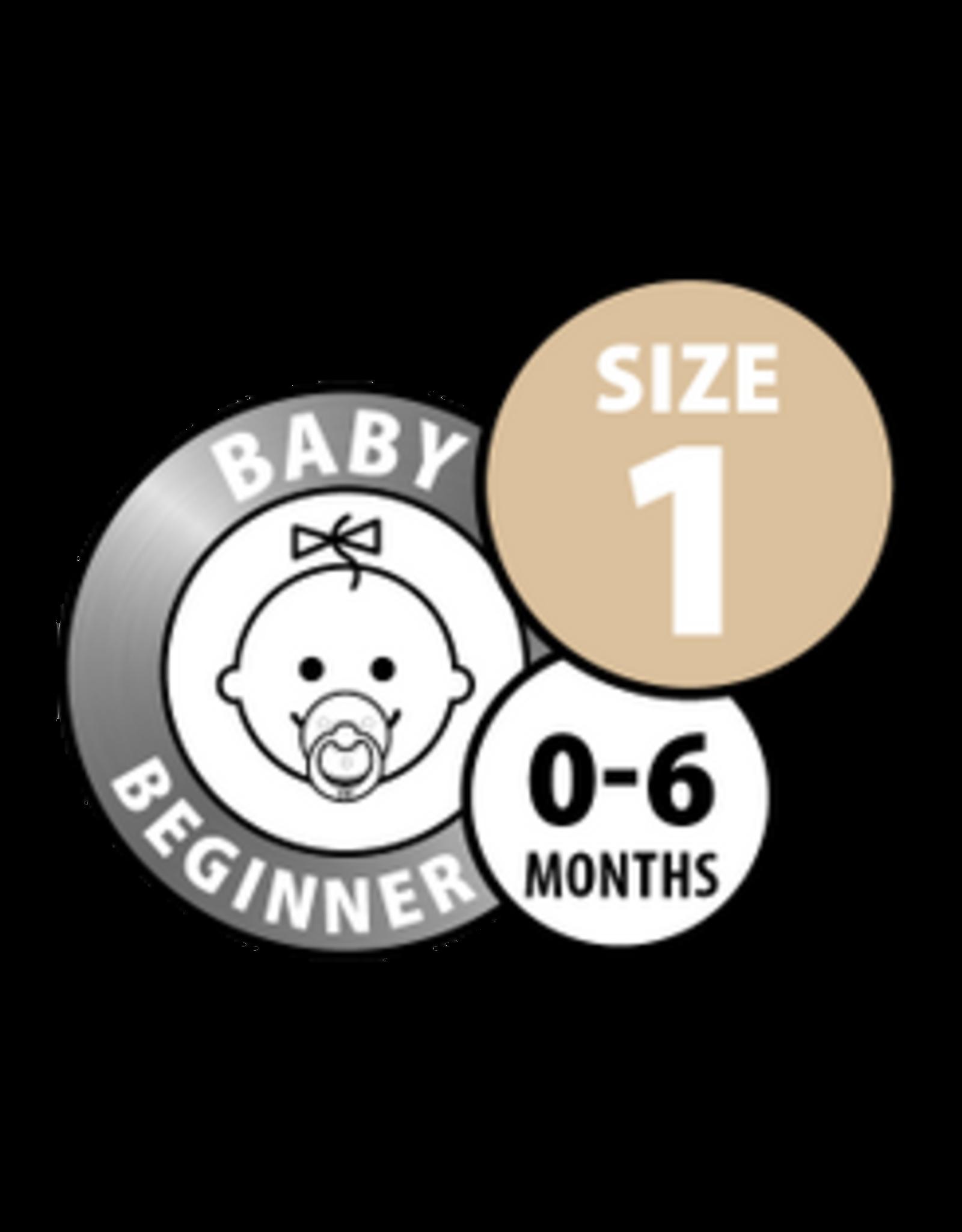 Bibs Fopspeen Baby blue maat 1