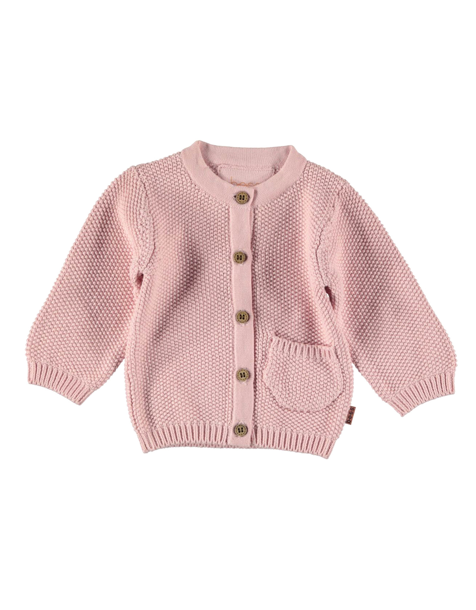 BESS Cardigan Knitted Pink