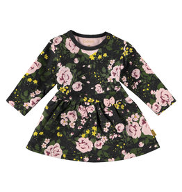 BESS Dress AOP Roses Dessin