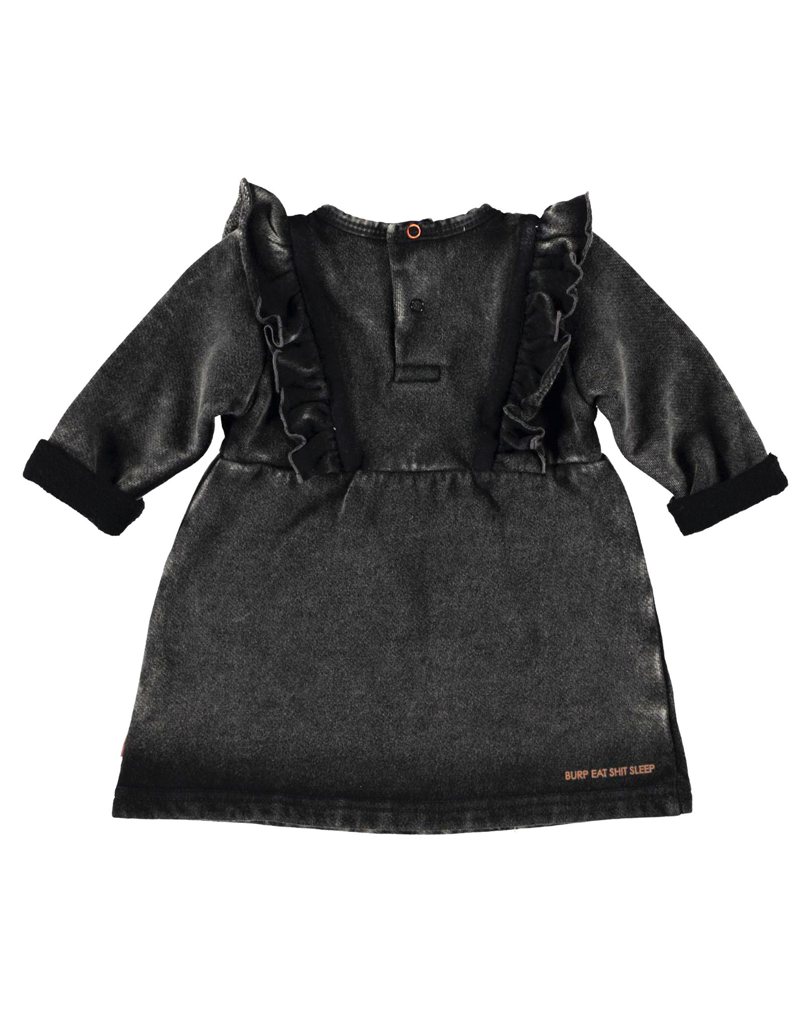 BESS Dress Jogdenim Black denim