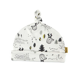 BESS Hat AOP Forest White