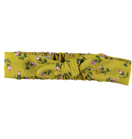 BESS Headband Romantic Flowers Ocre