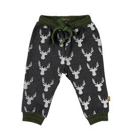 BESS Pants AOP Deer Antracite