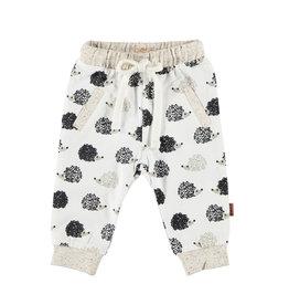 BESS Pants AOP Hedgehog White