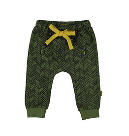 BESS Pants AOP Herringbone Dessin