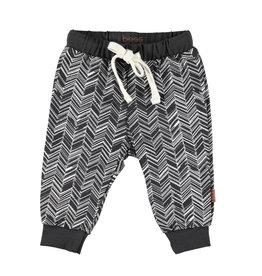 BESS Pants Herringbone Antracite
